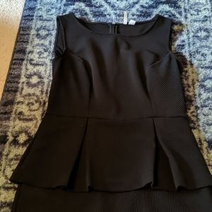 Elle peplum dress